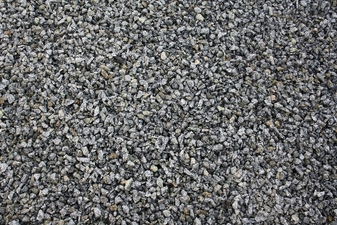 crushed screened granite